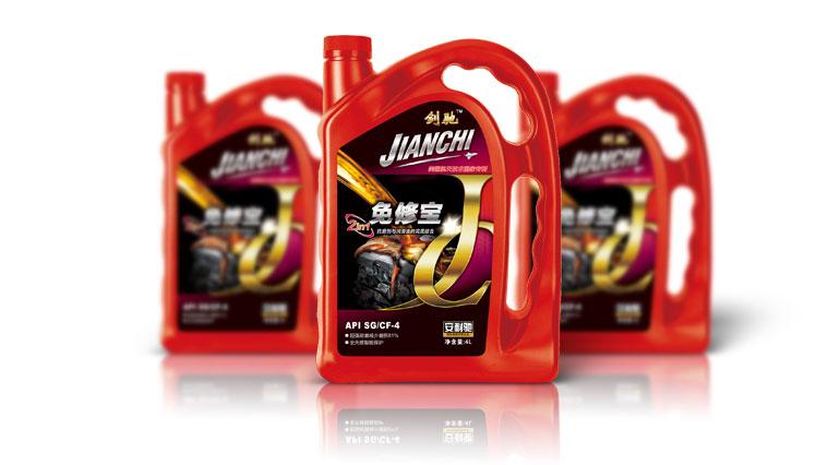 """3安耐施""""剑驰""""润滑油包装包装设计"""