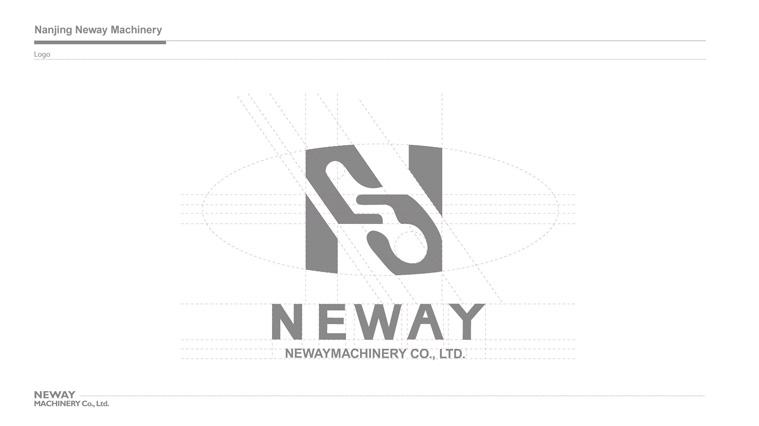NEWAY新途机械公司中英文命名及标志设计