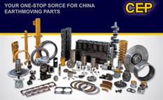 CEP工程机械配件广告创意设计