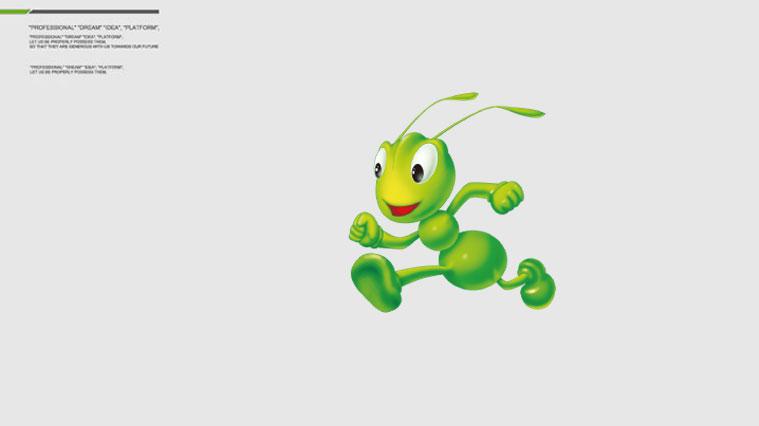 """爱德林汽车养护品""""蚂蚁""""卡通吉祥物设计1"""