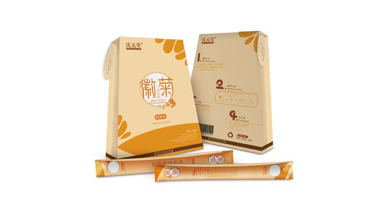 11庆元堂菊花茶茶叶包装设计-上海品牌包装设计公司