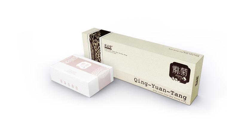 14庆元堂菊花茶茶叶包装设计-上海品牌包装设计公司
