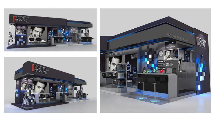 碧欧泉化妆品连锁专卖店万博网页版手机登录及展示万博网页版手机登录3