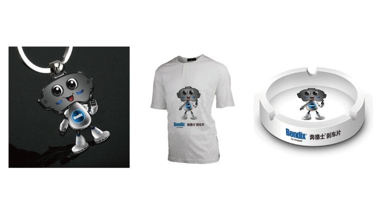 霍尼韦尔刹车片刹车小先生卡通吉祥物设计与品牌形象策划塑造3-吉祥物礼品设计