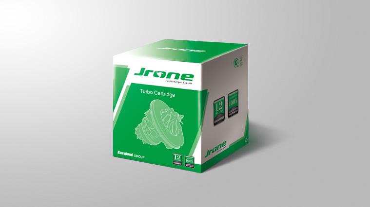 JRONE劲朗涡轮增压器汽配包装设计