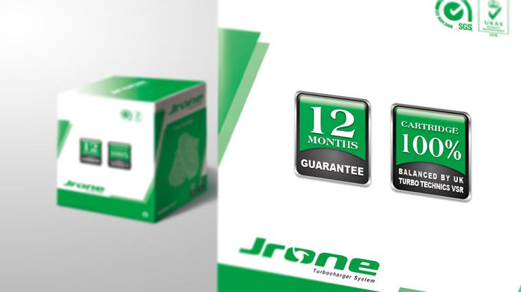 JRONE劲朗涡轮增压器汽配包装设计2-尚略广告-上海包装设计公司