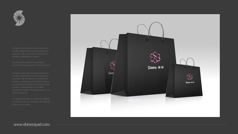 娴娅高级定制女装服饰LOGO设计手提袋设计-上海LOGO设计公司