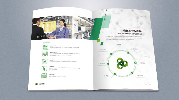 众洁科技工业化学品汽车养护品画册设计
