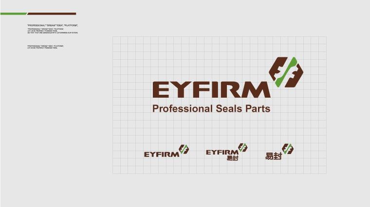 2Eyfirm易封汽车配件密封件标志设计-尚略广告上海标志设计公司