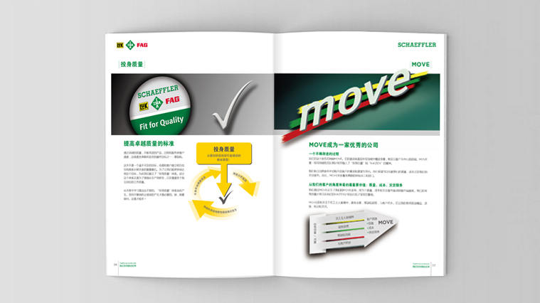 舍弗勒集团招聘宣传册设计-上海工业品画册设计公司