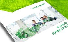 舍弗勒集团2015校园招聘宣传册设计