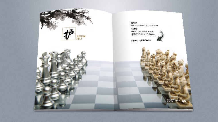 实则硬小微企业金融服务企业宣传画册设计-上海宣传册设计公司5