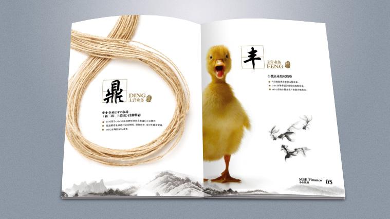 实则硬小微企业金融服务企业宣传画册设计-上海宣传册设计公司4