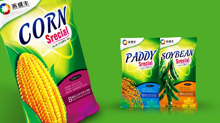 禾盛丰农作物专用肥料包装设计-上海尚略原创包装设计作品