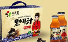 乌吉密黑木耳汁农产品包装设计-上海农产品包装设计案例