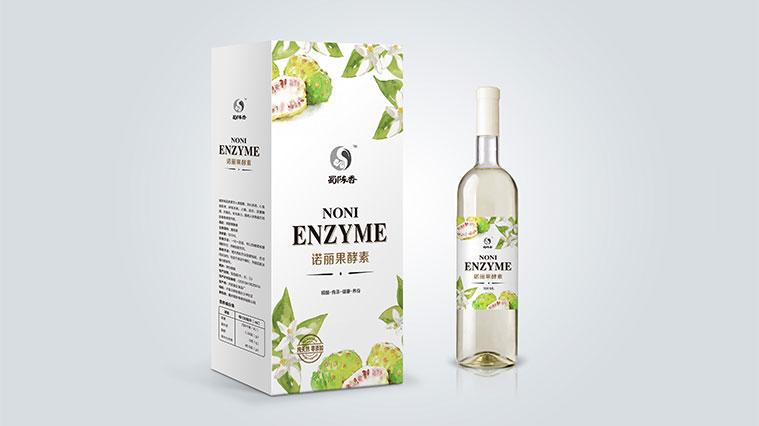 蜀陈香水果酵素礼盒红酒装包装设计-上海保健品包装设计公司