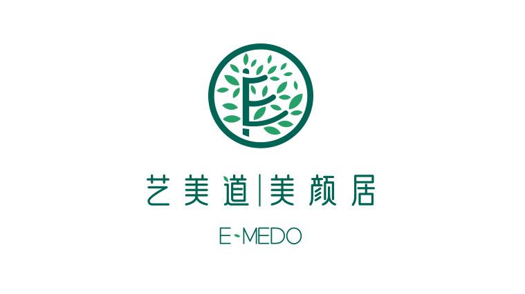 艺美道日式美容会所与护肤品品牌标志设计VI视觉形象设计-上海品牌设计公司1