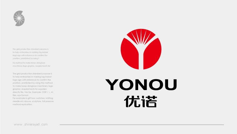 yonou火花塞汽配汽配标志设计-上海尚略汽配LOGO设计公司