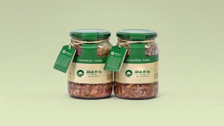涌禾农场农业农产品腌制品包装设计尚略广告原创设计作品