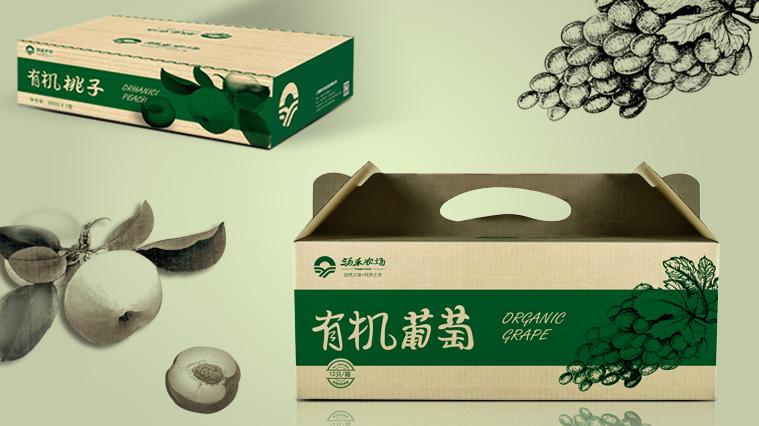 16涌禾农场农产品包装设计-有机水果包装设计-上海品牌全案策划设计公司