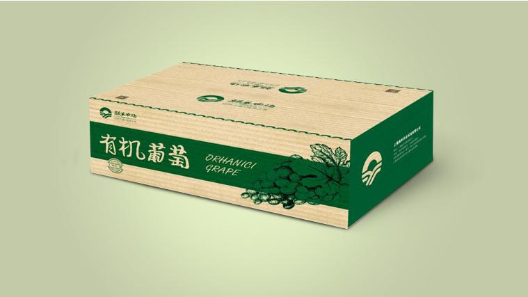 15涌禾农场农产品包装设计-有机葡萄包装设计-上海品牌全案策划设计公司
