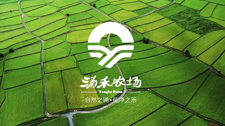 涌禾农场品牌形象设计全案策划设计