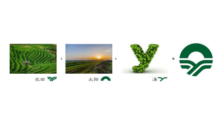 涌禾农场农业品牌商标LOGO设计概念图示说明-上海LOGO设计公司2
