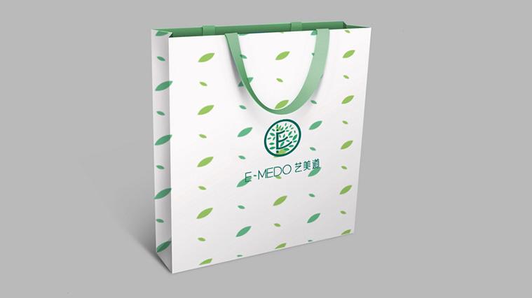 艺美道日式美容会所与护肤品品牌标志设计VI视觉形象设计-上海品牌设计公司6