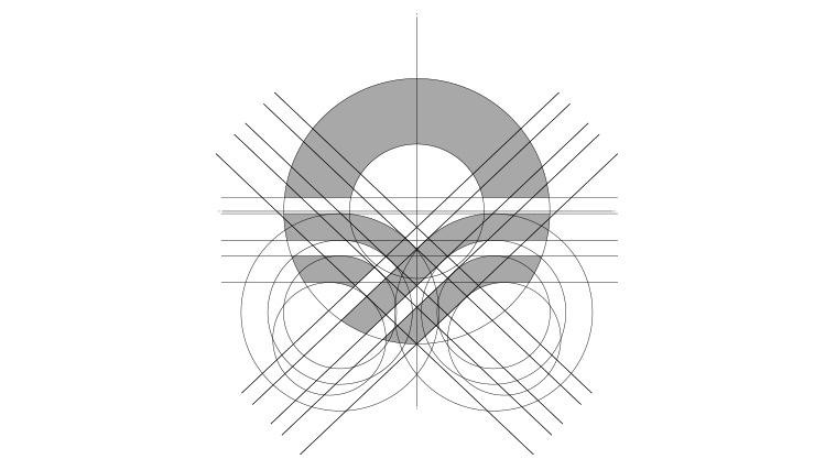 涌禾农场农业品牌商标LOGO设计-标志标准化网格制图设计-上海LOGO设计公司3