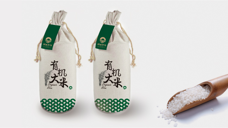 涌禾农场农产品大米包装设计-上海尚略品牌策划设计公司原创作品