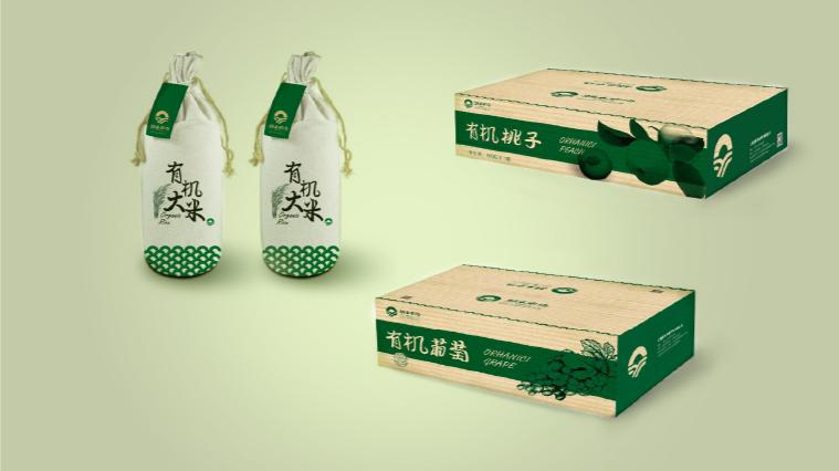 12涌禾农场农产品包装设计-上海品牌全案策划设计公司