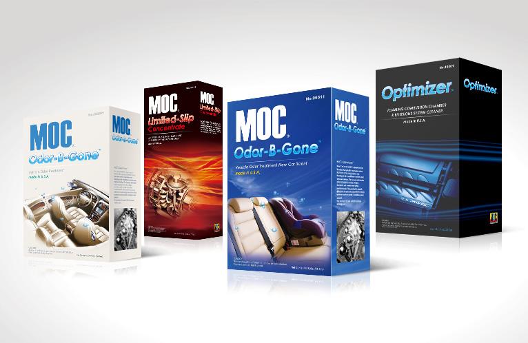 美国MOC汽车美容与养护产品包装设计
