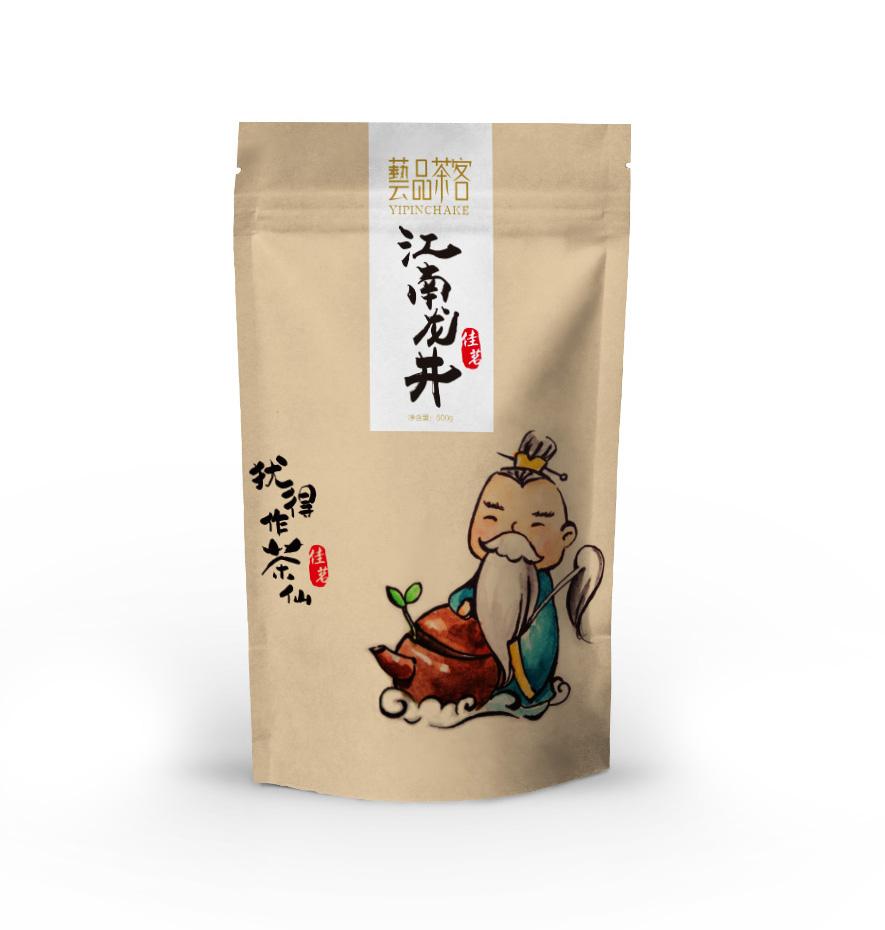 艺品茶客茶仙版茶叶包装设计