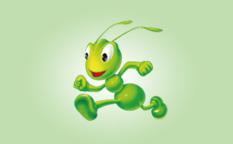 """爱德林汽车养护品""""卡通小蚂蚁""""标志logofun88乐天使备用"""