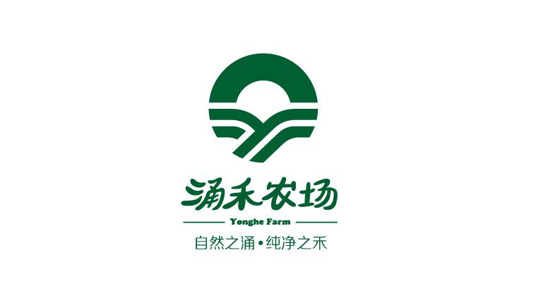 3涌禾农场企业LOGO设计-上海企业全案策划设计公司