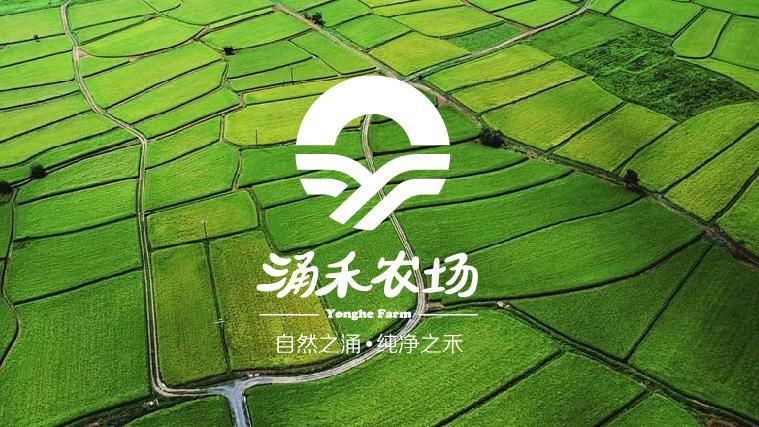 涌禾农场农业品牌商标LOGO设计-上海LOGO设计公司1