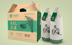 涌禾农场有机大米蔬菜鸡蛋水果腌制品农产品包装设计
