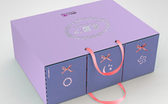 乐媛卫生巾套装礼盒包装万博网页版手机登录-可用作收纳盒二次再利用包装万博网页版手机登录