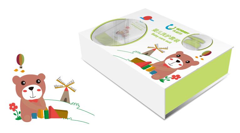 UEABABY优益倍婴儿护肤品包装设计-上海婴童包装设计公司11