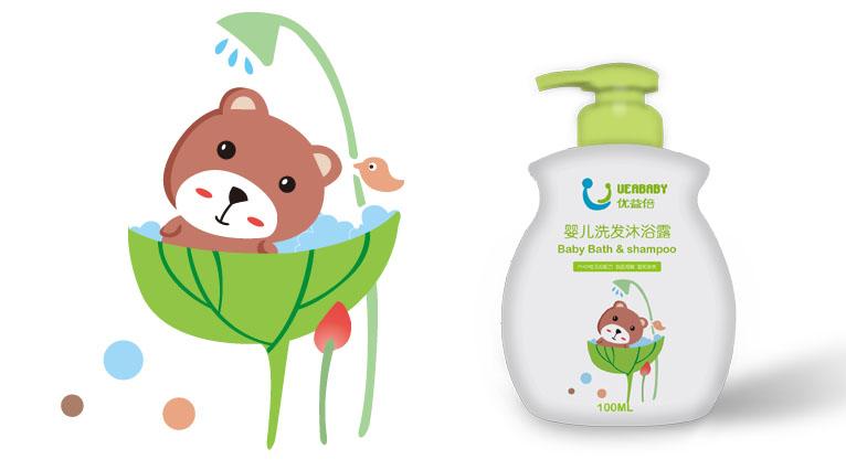 9UEABABY优益倍婴儿护肤品包装设计-上海婴童包装设计公司8