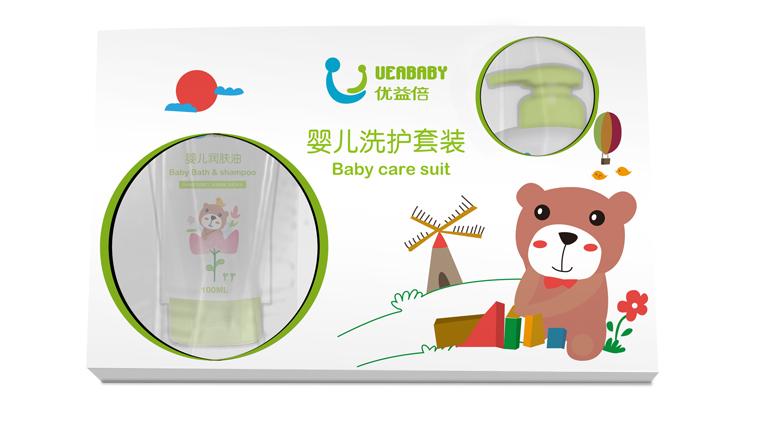 UEABABY优益倍婴儿护肤品包装设计-上海婴童包装设计公司5