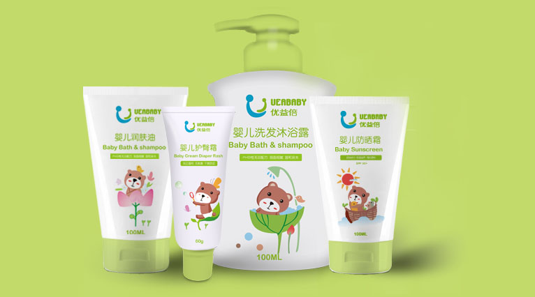 UEABABY优益倍婴儿护肤品包装设计-上海婴童包装设计公司6