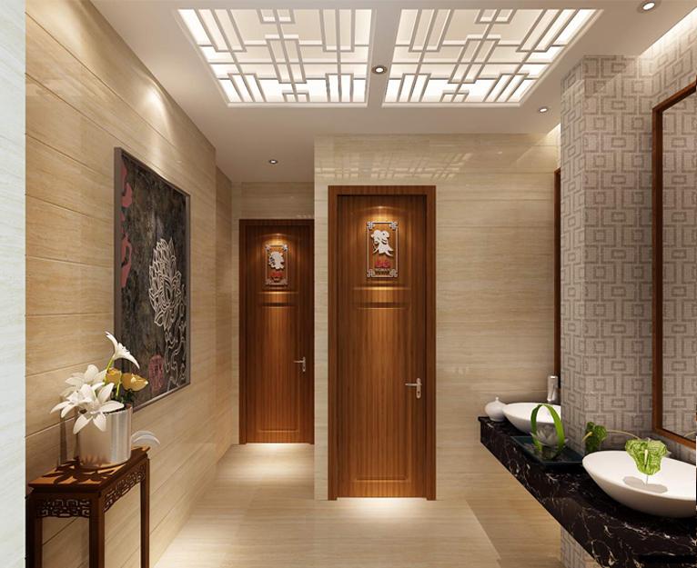 华萃碗碗香粥中式餐饮品牌VI设计与餐厅SI空间设计