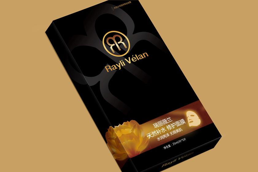 Rayli velan 瑞丽薇兰面膜包装设计化妆品包装设计-上海包装设计公司