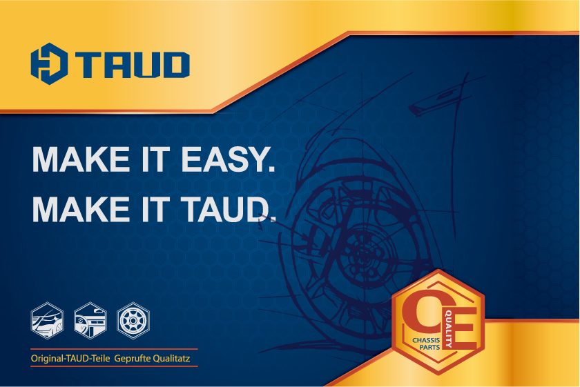 TAUD托德汽车配件品牌LOGO设计-上海LOGO设计公司