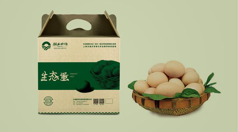 涌禾农场鸡蛋包装设计-上海农产品品牌策划包装设计公司