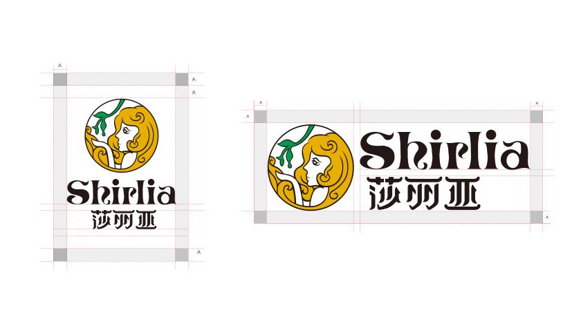 Shirlia 莎丽亚食用油logo设计品牌VI设计-上海logo设计公司