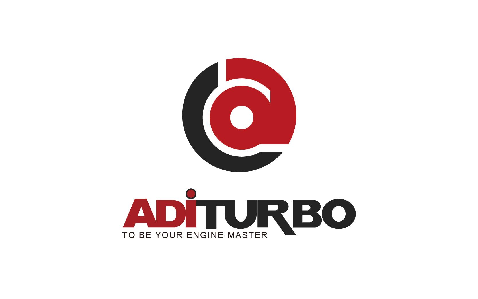 aditurbo 涡能增压器汽车配件LOGO设计
