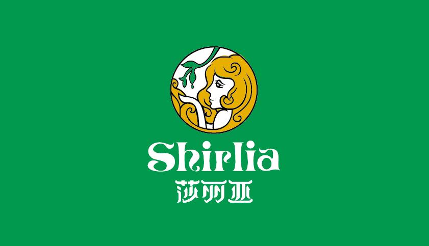 hirlia 莎丽亚食用油logo设计-上海logo设计公司