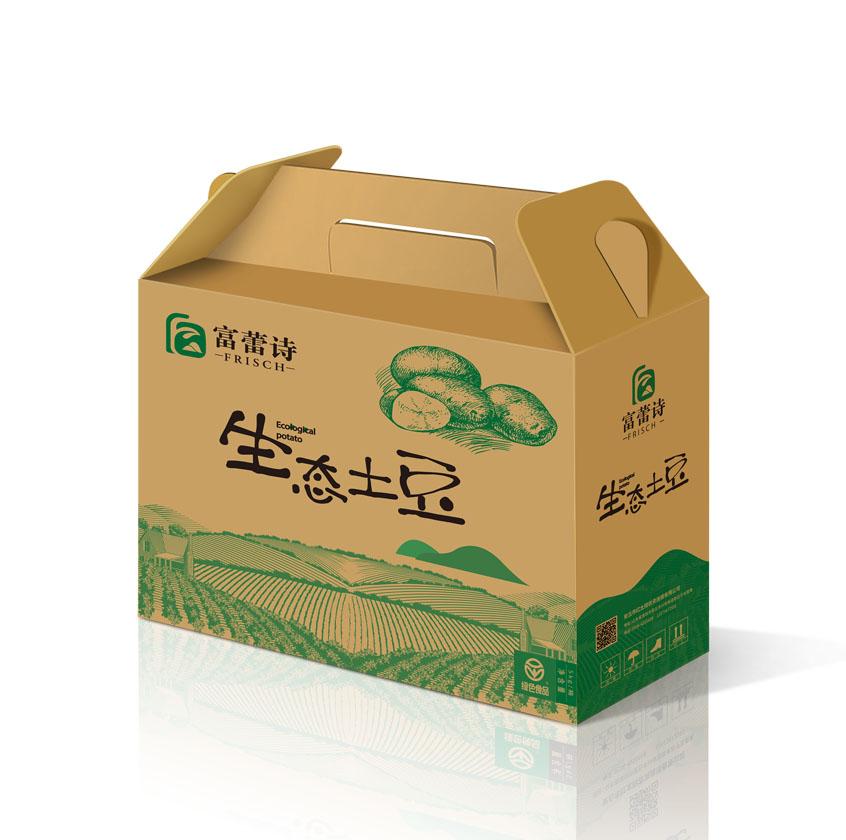 富蕾诗品牌农产品包装设计-上海包装设计公司